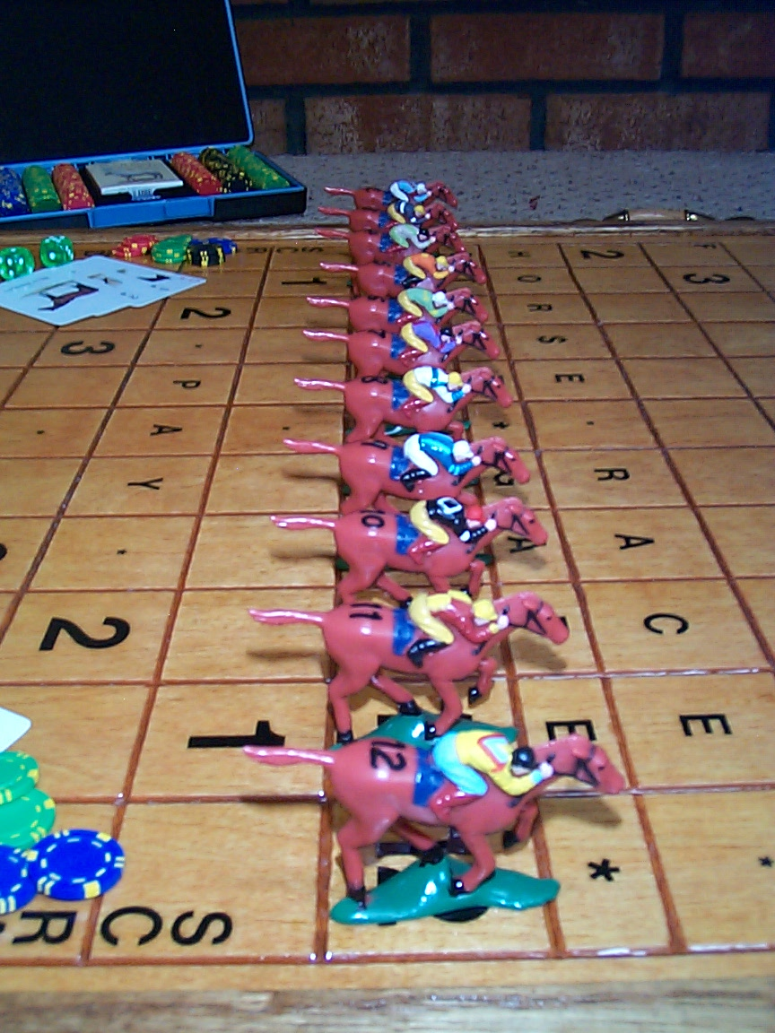 how to play horse race card game